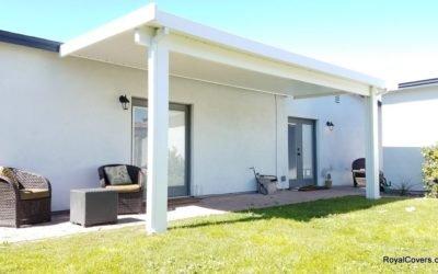 White Aluminum Pergola in Phoenix, AZ 85006