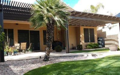 Alumawood Patio Cover Extension in Phoenix, Arizona
