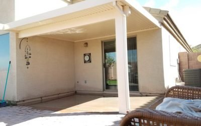 Add Covered Patio Over Sliding Glass Door