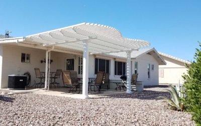 Sunland Village East Alumawood Lattice Installation – Mesa AZ