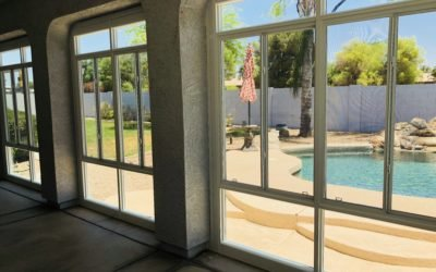 Glass Patio Enclosure in Gilbert Arizona